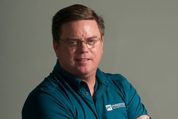 Dean Moore, President of Phreedom Technologies